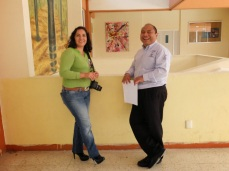 Photo of Alilí Lopez and Flavio Morales