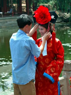 Costume Photo Preparation - Summer Palace Park