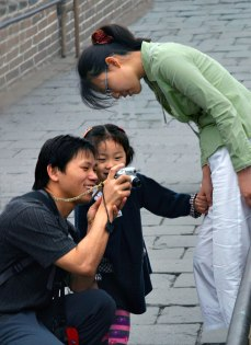 Family on the Great Wall - Badaling