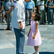 Grandfather and Granddaughter - Temple of Heaven Park
