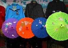Umbrellas for Sale - Great Wall at Badaling