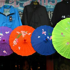 Umbrellas for Sale - Great Wall at Badaling