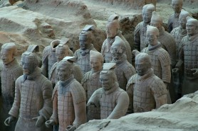 Terracotta Warriors - Xi'an, China Photo by Charles Cottle
