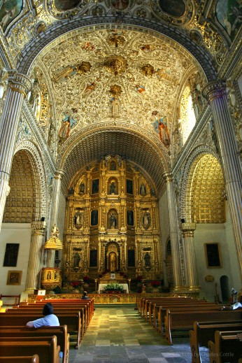 Interior of Santo Doming de Guzmán