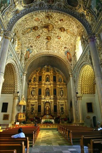 Interior of Santo Doming de Guzmán