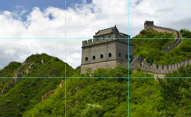 Great Wall with lines 01