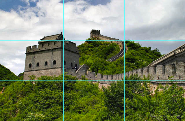 Great Wall with lines 02